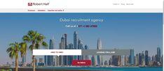 Recruitment Agencies in Dubai - Robert Half Job Search Websites, Robert Half, City Jobs, International Jobs, Recruitment Services, Job Info, Visit Dubai, Job Portal, Dubai City