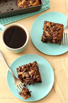 What's easy to make, super moist, and packed full of chocolate chips? This irresistible Banana Chocolate Chip Snack Cake, which also happens to be dairy free, egg free, and vegan.