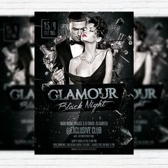 glamour party flyer - Google Search Psd Templates, Flyer Template, Glamour Party, Xjr, Free Park, Party Flyer, Flyer Design, Night Out, Design Inspiration