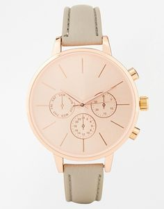 New look Grey Clean Dial Watch