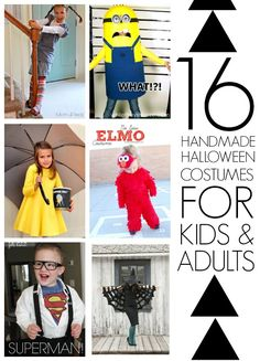 16 DIY Halloween costumes for kids and adults - C.R.A.F.T.