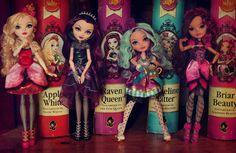 Ever After High dolls by *Szklanooka on deviantART