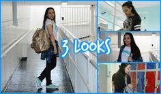Resultado de imagem para looks escolar