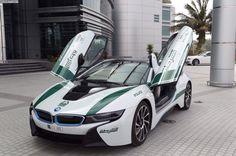 Dubai Police: BMW i8