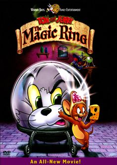 Tom and Jerry The Magic Ring DVD Box Art