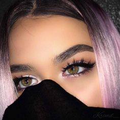 Hairstyles and Beauty: The Internet`s best hairstyles, fashion and makeup pics are here. Makeup On Fleek, Flawless Makeup, Glam Makeup, Skin Makeup, Makeup Inspo, Makeup Inspiration, Beauty Makeup, Makeup Style, Style Inspiration