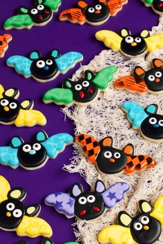 Cute Bat Cookies | The Bearfoot Baker