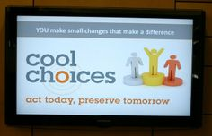 Everyday is a Great Day to Make a Cool Choice! #SustainableAction