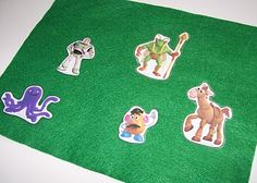Disney Character or kids movie magnet or flannel board fun.