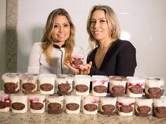 Irmãs investem R$ 300 em 'bolos de pote' e viram empresárias em MG