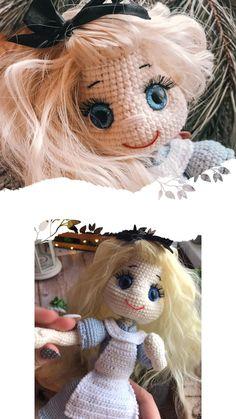 Crochet Bunny, Cute Crochet, Crotchet, Crochet Toys Patterns, Amigurumi Patterns, Stuffed Toys Patterns, Knitting Toys, Knitting Ideas, Handmade Ideas