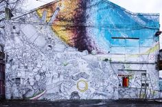 Blu in Bologne, Rome, incredible street art, urban artists, free walls, amazing wall murals, best urban art, street art blog.