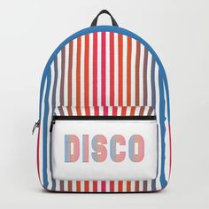 Disco Backpack by alex_ira My Design, Backpacks, Stuff To Buy, Bags, Purses, Taschen, Totes, Hand Bags, Backpack