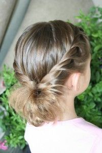 Double Twistbacks into Side Flip | Cute Hairstyles