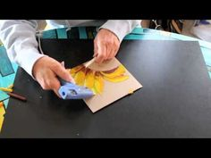 Melted Crayon Art - First in series. - YouTube