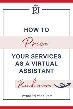 Figuring out how to price your services for your virtual assistant business can be confusing, especially for new virtual assistants. In this post, you'll learn the different ways to price your services, the pros and cons of hourly pricing and package pricing and how to properly price your services so you're being paid your worth.