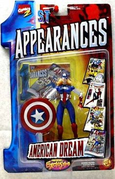 Marvel Comics 1st Appearances  American Dream action figure *** You can find more details by visiting the image link.