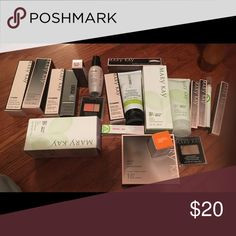 Mary kay bundle!!! Make your own bundle !  This is one of each of what I have left but have I more colors so you can make your own bundle !  5 items for $20!  What a deal ! Mary Kay Makeup