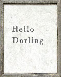 Hello Darling* – Sugarboo & Co