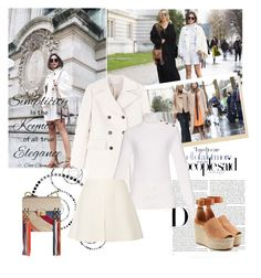 Paris fashion week by sarapires on Polyvore featuring Chloé, Marni, Valentino and Chanel