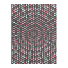 Multicolored abstract hexagon mosaic pattern giving the product a trendy and decorative looks. You can also customize it to get a more personal look. Mosaic Patterns, Abstract Pattern, Cozy Blankets, Kids Rugs, Colorful, Unique, Modern, Design, Home Decor