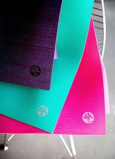 Tools for your practice - lifetime guaranteed   Manduka PRO Series yoga mats.