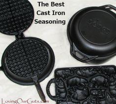 The Best Cast Iron Seasoning Method - Thehomesteadsurvival