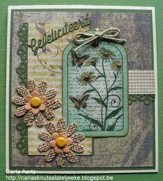 """carlasknutselateljeeke: Tagkaart """"Daisy Butterfly Tag"""""""