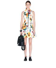 Watercolour Floral Cotton Dress by Cue