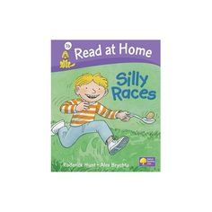 Silly Races (Read at Home, Level 1b) - English Wooks