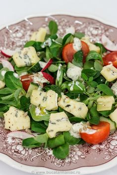 Cobb Salad, Food And Drink, Healthy Recipes, Vegan, Salads, Healthy Eating Recipes, Healthy Food Recipes, Clean Eating Recipes, Vegans