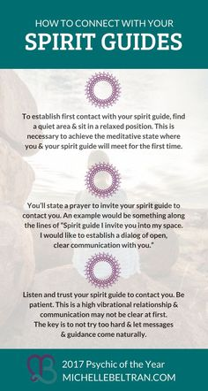 Psychic medium explains how to learn how to connect with your Spirit Guide for psychic development training and guidance. Spiritual Guidance, Spiritual Life, Spiritual Awakening, Spiritual Health, Spiritual Practices, Psychic Development, Spiritual Development, Chakras, Psychic Mediums