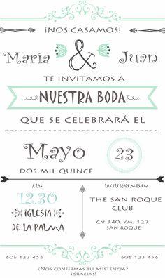 invitación de boda personalizada Wedding Cards, Our Wedding, Wedding Invitations, Dream Wedding, Wedding Ideas, Wedding Stuff, Jesus Ochoa, Happy Birthday Celebration, Ideas Para Fiestas