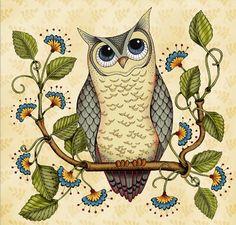 """Owl Wise"" par Karla Dornacher"