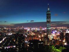 Una meravigliosa vista su Taipei.