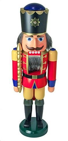 Dregano Nutcracker King Wilhelm Red Yellow Germany >>> More info could be found at the image url.
