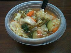 Weight Watchers 0 Point  Garden Vegetable  Soup.