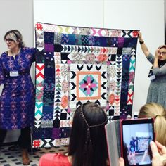 The quilt that made everyone die. #cottonandsteel #quiltmarket