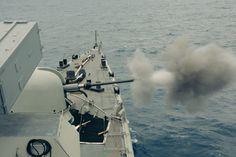Συνεκπαίδευση του ΠΝ με πυρά &Πολεμικά Σκάφη του NΑΤΟ Maritime Group 2 (SNMG-2). (φώτο)