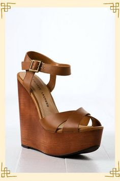 Who exactly doesn't absolutely adore attractive wedges?, find out our marvelous choice of zip-back and belt wedges for each special occasion! Cute Shoes, On Shoes, Wedge Shoes, Me Too Shoes, Shoe Boots, Shoes Heels, Wedge Sandals, Flats, Chinese Laundry Shoes