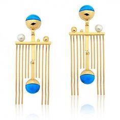 Dot Fringe Earring – LuxeyLife