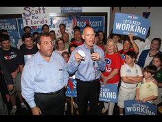 Updated w/video: Govs. Scott and Christie campaign in Vero Beach