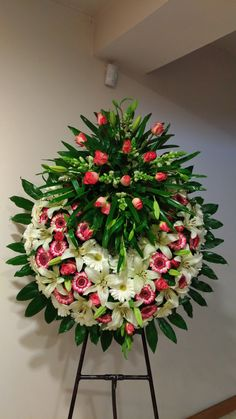 Funeral Floral Arrangements, Large Flower Arrangements, Dad Funeral Flowers, Casket Flowers, Funeral Sprays, Corona Floral, Casket Sprays, Memorial Flowers, Cemetery Flowers