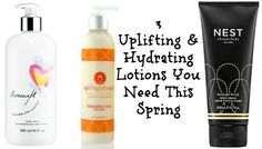 3 Uplifting & Hydrating Lotions You Need This Spring! #beauty #bodycare #bathandbody #lotion #citrus #floral