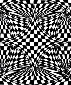 Free coloring page coloring-op-art-illusion-optique-sky-amethyst. Strange structure to color