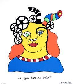 Niki De SAINT PHALLE (1930-2002) Portrait / autoportrait