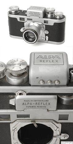 Pignons: Alpa Reflex I camera