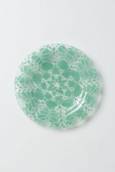 Frosted Doily Dessert Plate #Anthropologie