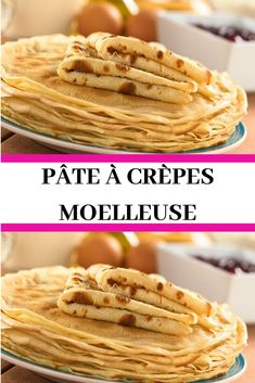 Discover recipes, home ideas, style inspiration and other ideas to try. Crepe Recipes, Dessert Recipes, French Crepes, Dessert Pizza, Nutella Recipes, French Desserts, Time To Eat, Healthy Breakfast Recipes, Pizza Recipes