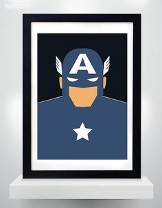 Hey, I found this really awesome Etsy listing at https://www.etsy.com/listing/220510892/captain-america-minimalist-poster